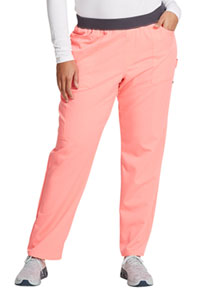 Dickies Mid Rise Tapered Leg Pull-on Pant Flamingo Pink (DK135-PKKL)