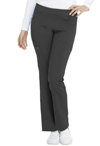 Dickies Balance Mid Rise Straight Leg Pull-on Pant (DK135-PWT) (DK135-PWT)