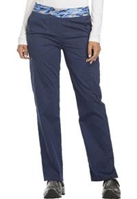 Mid Rise Tapered Leg Pull-on Pant (DK140P-NAV)
