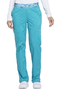 Mid Rise Tapered Leg Pull-on Pant (DK140P-TLB)