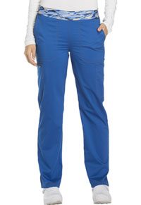 Essence Mid Rise Tapered Leg Pull-on Pant (DK140-ROY) (DK140-ROY)