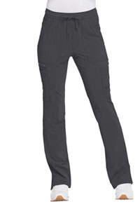 Dickies Mid Rise Boot Cut Drawstring Pant Pewter (DK200-PWT)