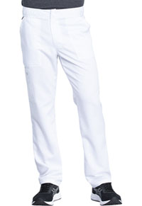 Dickies Men's Mid Rise Straight Leg Pant White (DK220-WHT)