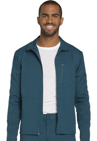 Dickies Men's Zip Front Warm-up Jacket Caribbean Blue (DK310-CAR)