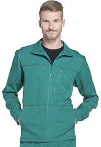 Dickies Men's Zip Front Warm-up Jacket Hunter (DK310-HUN)