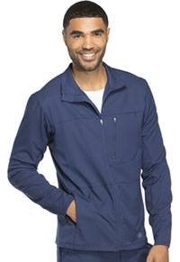 Men's Zip Front Warm-up Jacket Navy (DK310-NAV)