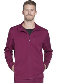 Dickies Men's Zip Front Warm-up Jacket Wine (DK310-WIN)