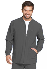 EDS Essentials Men's Zip Front Warm-Up Jacket (DK320-PWPS) (DK320-PWPS)