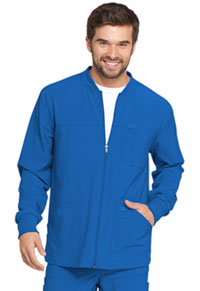 Men's Zip Front Warm-Up Jacket Royal (DK320-RYPS)