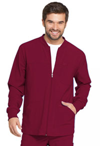 Dickies Men's Zip Front Warm-Up Jacket Wine (DK320-WNPS)