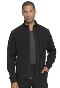 Advance Men's Zip Front Jacket (DK335-BLK) (DK335-BLK)
