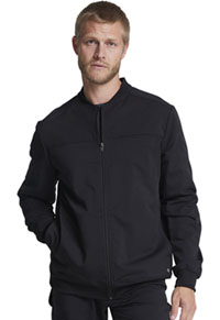 Dickies Men's Zip Front Jacket Black (DK370-BLK)