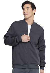 Dickies Men's Zip Front Jacket Pewter (DK370-PWT)