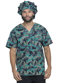 Dickies Bouffant Scrubs Hat Crosshatch Camo (DK500-CRCO)