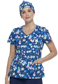 Dickies Scrubs Hat Starry Eyed Love (DK501-STYE)