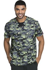 Dickies Men's V-Neck Top Duty Calls (DK600-DTCS)