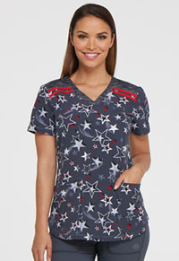Dickies V-Neck Top Lucky Star (DK602-LCST)