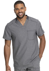 Dickies Men's V-Neck Top Heather Grey (DK610-HTGR)
