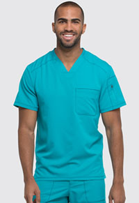 Dickies Men's V-Neck Top Teal Blue (DK610-TLB)