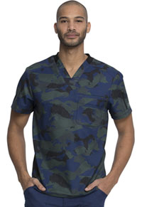 Dickies Men's V-Neck Top Line Up (DK611-LEUP)