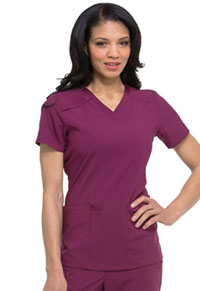 Every Day EDS Essentials V-Neck Top (DK615-WNPS) (DK615-WNPS)