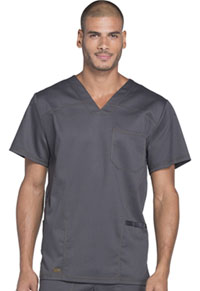 Dickies Men's V-Neck Top Pewter (DK630-PWT)