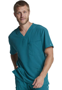 EDS Essentials Men's V-Neck Top (DK635-CAPS) (DK635-CAPS)