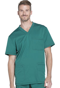 Dickies Men's V-Neck Top Hunter Green (DK640-HUN)