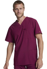 EDS Essentials Men's V-Neck Top (DK645-WNPS) (DK645-WNPS)