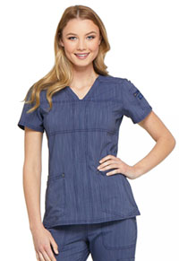 Advance V-Neck Top (DK690-NAVT) (DK690-NAVT)