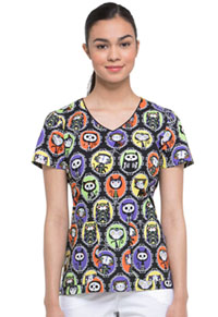 Dickies Prints V-Neck Top (DK700-DIGA) (DK700-DIGA)