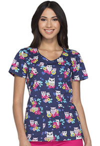 Dickies V-Neck Top It's Owl Good (DK700-ITOW)