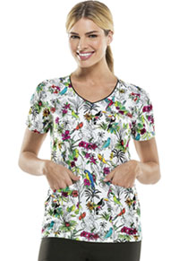Dickies V-Neck Top Free As A Bird (DK701X7-FEBR)
