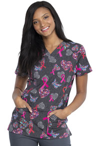 Dickies V-Neck Top Speck-tacular Love (DK704-SPKV)