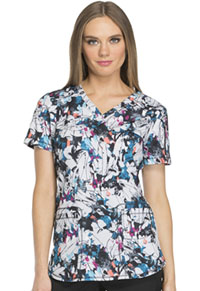 Dickies V-Neck Top Artistic Ambition (DK731-ARAM)