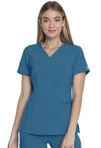 Every Day EDS Essentials V-Neck Top (DK735-CAPS) (DK735-CAPS)