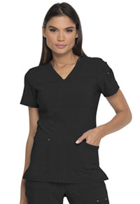 Dickies V-Neck Top Black (DK760-BLK)