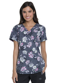 Dickies V-Neck Top Bursting Blooms (DK766-BURS)