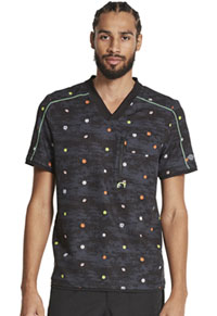 Dickies Men's V-Neck Top Let's Play Ball (DK779-LESP)