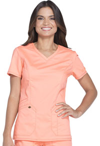 Dickies V-Neck Top Orange Zest (DK803-OZST)