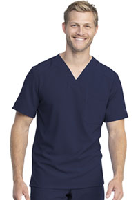 Dickies Men's V-Neck Top Navy (DK810-NAV)