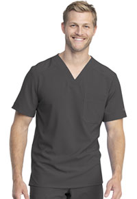 Dickies Men's V-Neck Top Pewter (DK810-PWT)