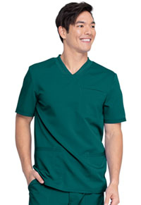 Dickies Men's V-Neck Top Hunter Green (DK845-HUN)
