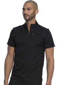 Dickies Dynamix Men's Tuckable Popover Top (DK860-BLK) (DK860-BLK)