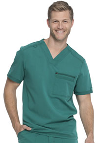 Dickies Men's V-Neck Top Hunter Green (DK865-HUN)