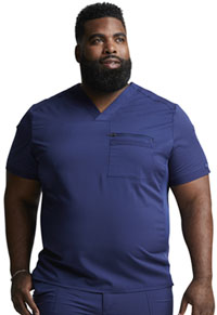 Dickies Men's Tuckable V-Neck Top Navy (DK865-NAV)