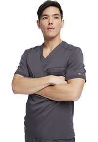 Dickies Men's V-Neck Top Pewter (DK865-PWT)