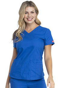 Dickies V-Neck Top Royal (DK880-ROWZ)