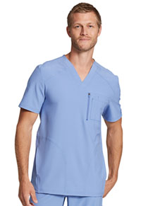 Dickies Men's V-Neck Top Ciel Blue (DK930-CIE)
