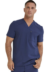 Dickies Men's V-Neck Top Navy (DK930-NAV)